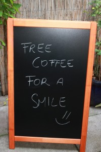 Coffee for a smile