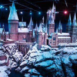 """""""Hogwarts in the snow"""""""