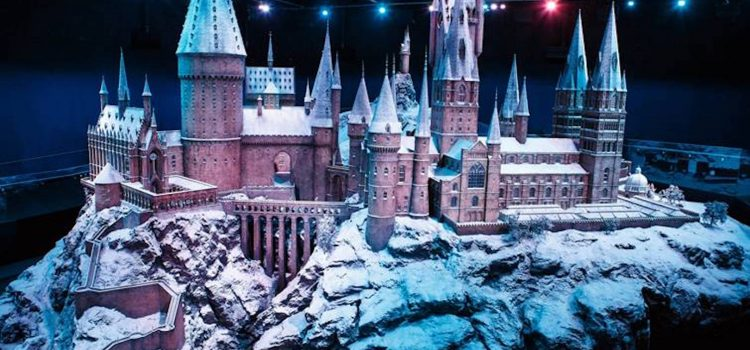 """Hogwarts in the snow"""